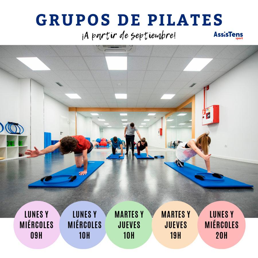 grupos de pilates